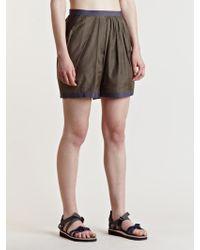 Kolor - Womens Pleated Shorts - Lyst