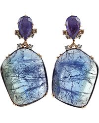 Federica Rettore - Tanzanite Drop Earrings - Lyst