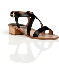 Laurence Dacade Leather Sandals In Black - Lyst