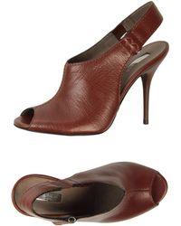 Calvin Klein High-Heeled Sandals - Lyst