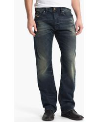 Diesel Larkee Relaxed Straight Leg Jeans - Lyst