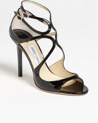Jimmy Choo 'Lang' Sandal - Lyst