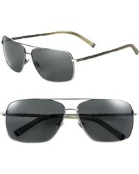 John Varvatos | Wire Wrap Aviator Sunglasses | Lyst
