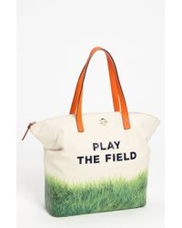 Kate Spade Call To Action Terry Canvas Tote - Lyst