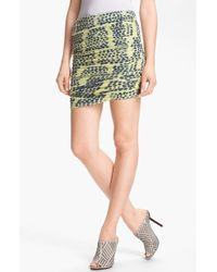 Kelly Wearstler Yellow Instinct Skirt - Lyst