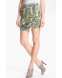 Kelly Wearstler Instinct Skirt yellow - Lyst