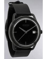 Nixon The Mellor Automatic Watch in All Black - Lyst
