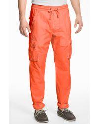 Splendid Mills | Corpus Slim Straight Leg Cargo Trousers | Lyst
