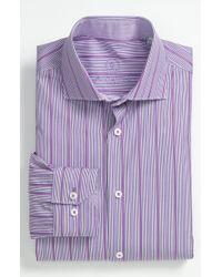 Bugatchi Shaped Fit Dress Shirt - Lyst