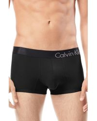 Calvin Klein Bold Micro Low Rise Trunks - Lyst