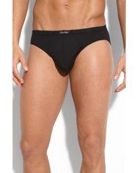Calvin Klein Micromodal Bikini Briefs - Lyst