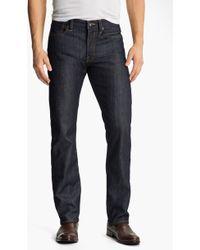 Lucky Brand 123 Heritage Slim Straight Leg Jeans Kino - Lyst