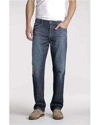 Lucky Brand Classic Straight Leg Jeans Ol Lipservice - Lyst