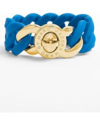 Marc By Marc Jacobs Turnlock Katie Stretch Bracelet - Lyst