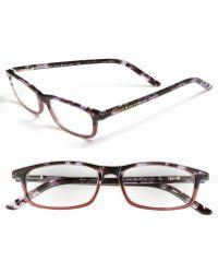 Kate Spade 'Jodie' 48Mm Reading Glasses - Purple Tortoise - Lyst