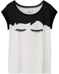 Lulu Guinness - Lulu Guinness Graphic Short Sleeve T-shirt - Lyst