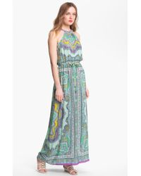 Nanette Lepore Beach Lover Silk Maxi Dress - Lyst