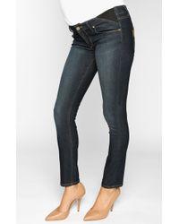 Paige Paige Maternity 'Union Skyline' Ankle Skinny Jeans - Lyst