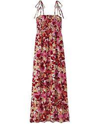 Uniqlo Print Maxi Dress - Lyst