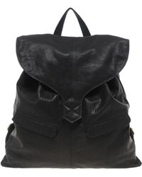 Asos Leather Backpack with Tab Detail - Lyst