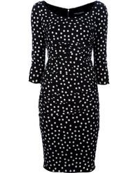 Dolce & Gabbana Polka Dot Dress - Lyst