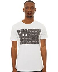 Insight The Acid Flag Tee in Dusted - Lyst