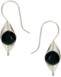 Sam Ubhi - Onyx Drop Earrings - Lyst