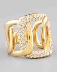 Mimi So - Piece 18k Gold Diamond Station Ring - Lyst