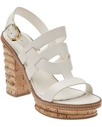 Sergio Rossi Chunky Cork Sandal - Lyst