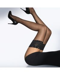 Wolford Satin Touch Hold-Ups - Lyst