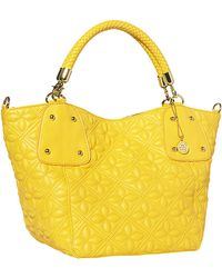 Big Buddha - Ava Floral Quilted Tote Bag - Lyst