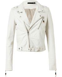 BLK DNM 1 Leather Biker Jacket - Lyst