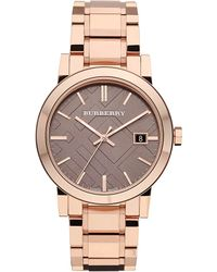 Burberry Rose Goldplated Bracelet Watch Rose Gold - Lyst