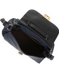 Chloe Elsie Medium Shoulder Bag Capri Night 120