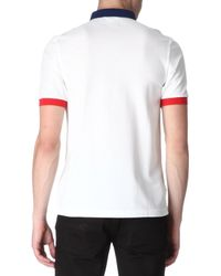 Fred Perry Slimfit Blockcolour Polo Shirt - Lyst