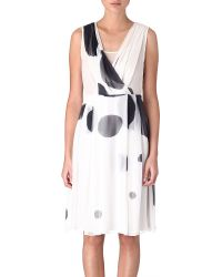 Max Mara Studio White Digione Dress - Lyst