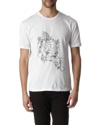 McQ by Alexander McQueen Vinesprint Tshirt - Lyst
