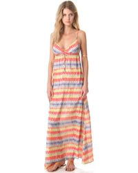 Pilyq Kyla Cover Up Maxi Dress - Lyst