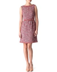 RED Valentino Tweed Dress - Lyst