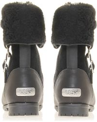 Ugg Bellvue Iii Leather Ankle Boots - Lyst