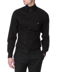 Vivienne Westwood Three-button Collar Single-cuff Shirt - Lyst