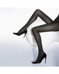 Wolford Velvet De Luxe 66 Tights - Lyst