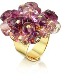 Antica Murrina - Rubik - Murano Glass Drops Ring - Lyst