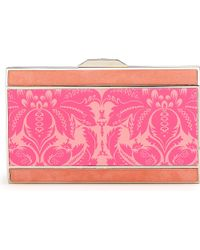 Anya Hindmarch Duchess Valentine Satin Box Clutch - Lyst