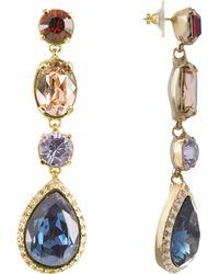 AZ Collection - Multicolor Drop Earrings - Lyst