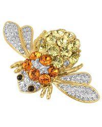 AZ Collection - Beetle Brooch - Lyst
