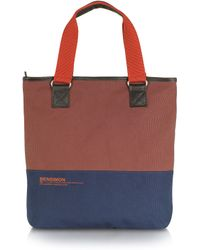 Bensimon - Surplus Line Canvas Tote Bag - Lyst