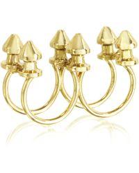Bernard Delettrez - Six Studs Bronze Ring - Lyst