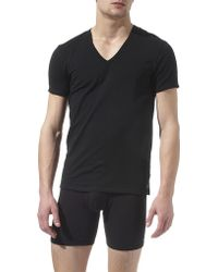Calvin Klein Pack Of Two V–Neck T–Shirts - For Men - Lyst