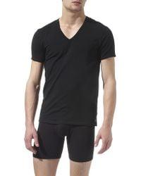 Calvin Klein Pack Of Two Vneck Tshirts - For Men - Lyst